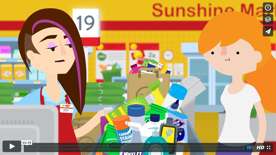 How to Save on Groceries Video