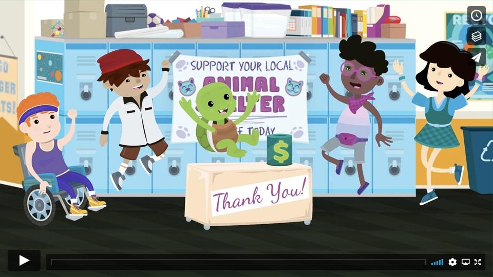 Money Tips for Kids: Giving Money Video